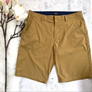 Vans▪️Nylon Waterproof Straight Front Shorts. 34